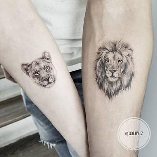 Tatuajes De Leones Todo Un Simbolo De Familia Y Lealtad Mini Tatuajes