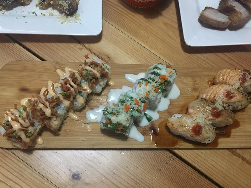 Bermy Sushi Shack, 8 Seas Food Park Adventure