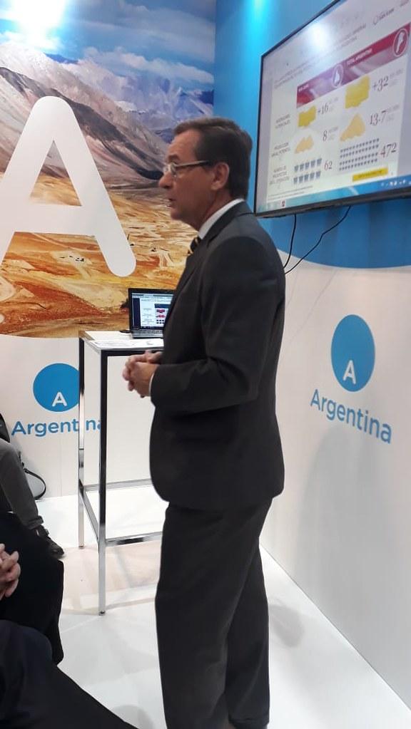 Hensel expuso la oferta minera Sanjuanina en  PDAC (4)