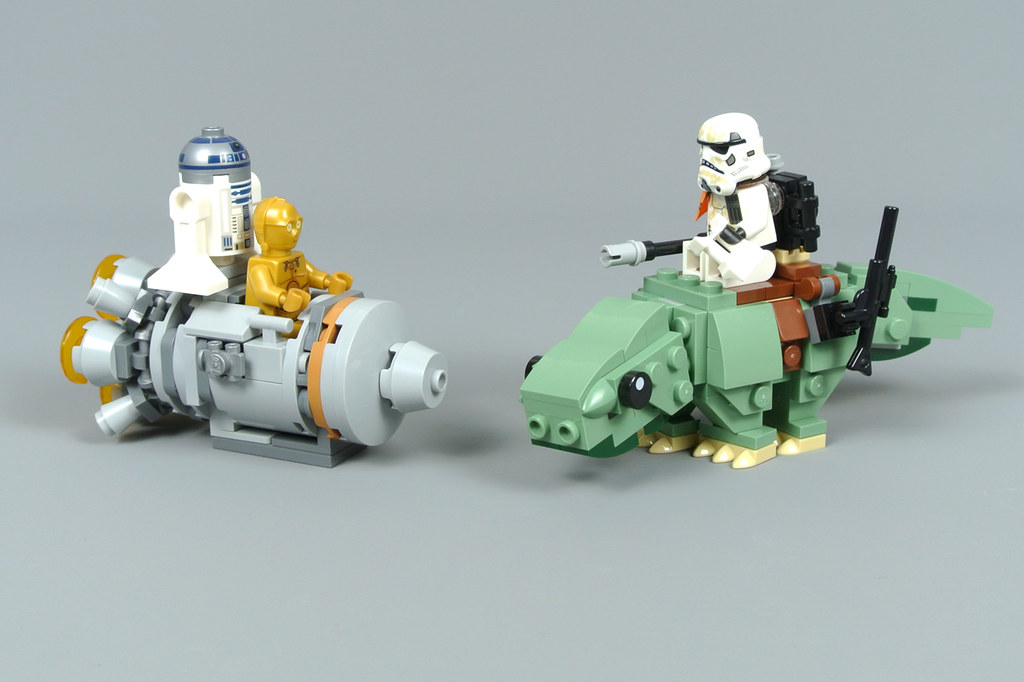 DEWBACK Microfighters neu/&ovp Lego 75228 Star Wars Escape Pod vs