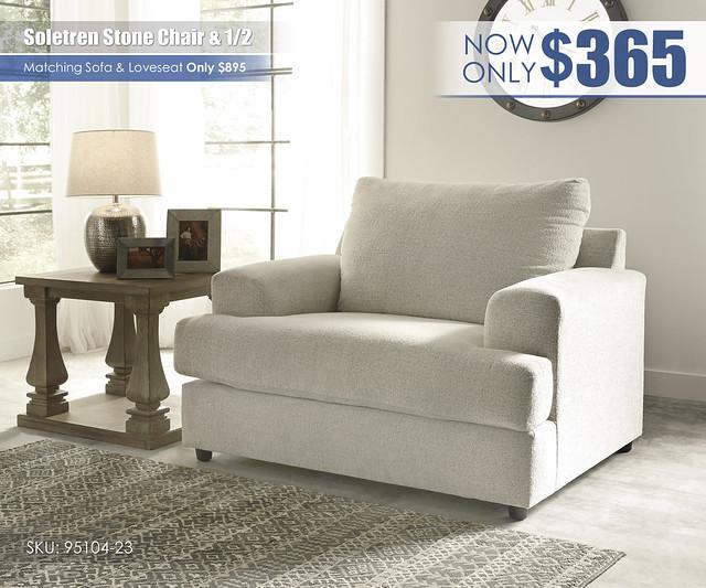 Soletren Chair & Half_95104-23