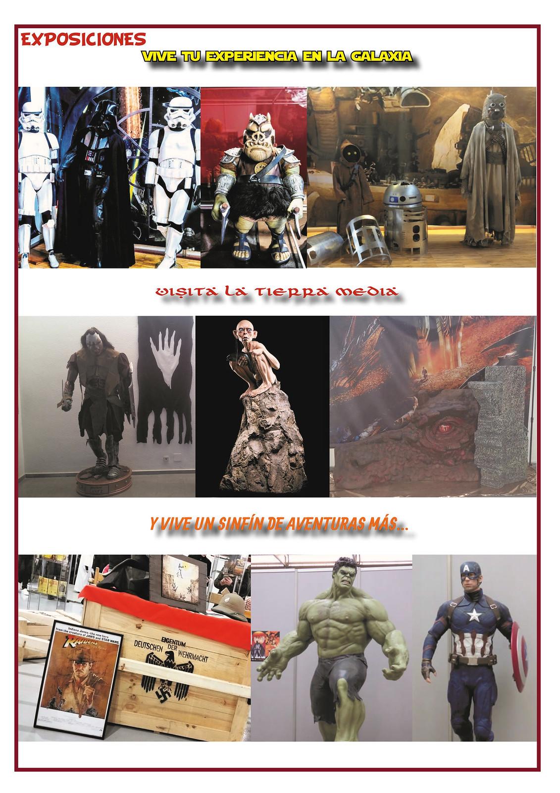 EXPOSICIONES Salón Cómic y Manga 2019