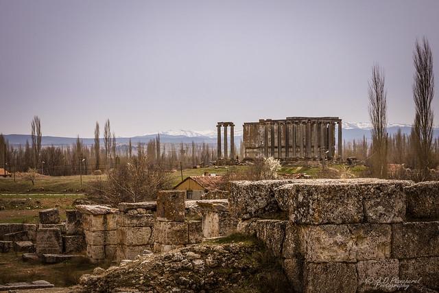 Ruins and rocks
