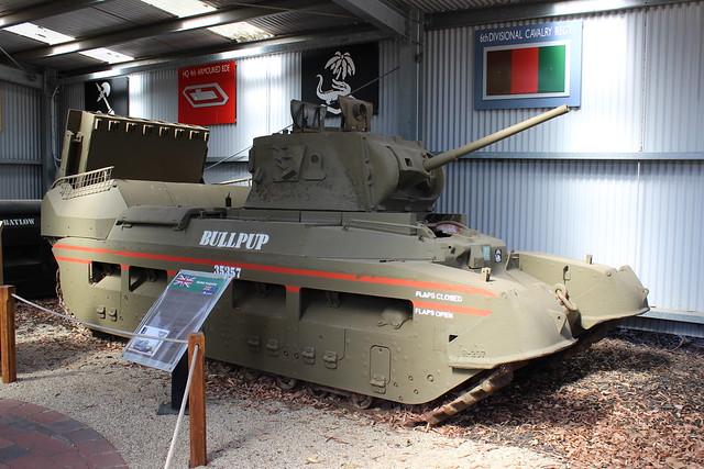 Matilda Hedgehog tank, Army Tank Museum