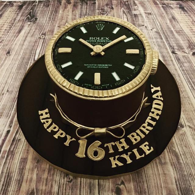Rolex Cake from Cakes By Stephanie