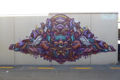Ghostie graffiti, Taupo