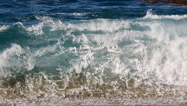 Ocean wave on Monastery Beach, Carmel,CA 12-27-18