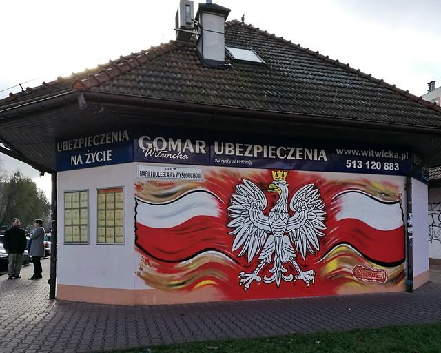 Marcin Skurowski, mural na stulecie niepodległości