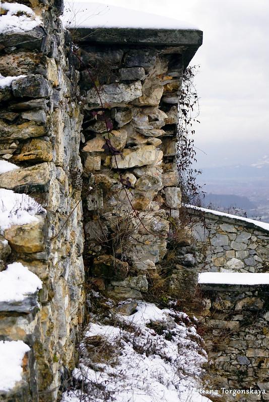 Вид на стены