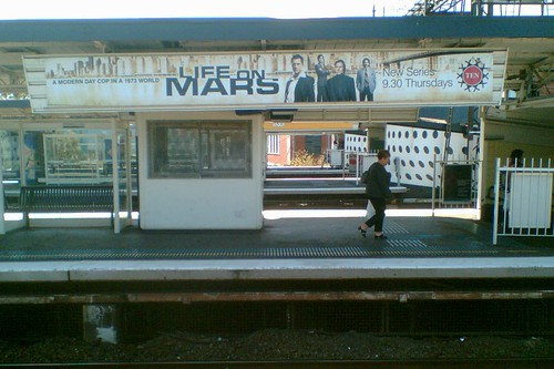 Richmond Station: ads for Life On Mars (US) 24/2/2009 | by Daniel Bowen