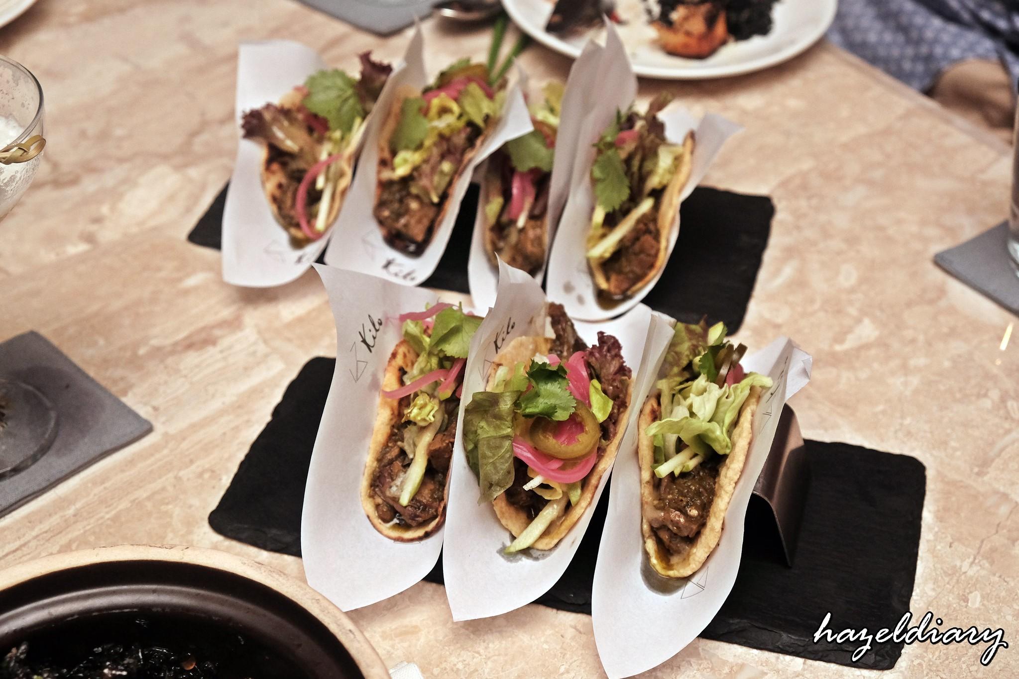 Kilo Kitchen Duxton Road-Beef Tongue Tacos