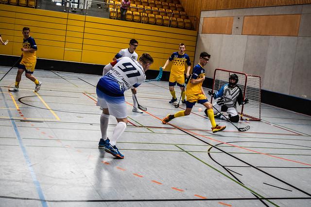Donau Floorball vs. Dresden