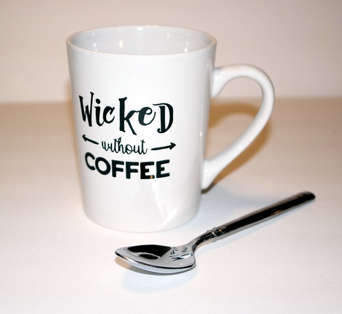 Wicked Without Coffee | by Christy @ Raining Crafts & Dogs