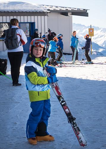 Les p'tits skis