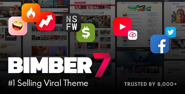 Bimber v7.0 – Viral Magazine WordPress Theme
