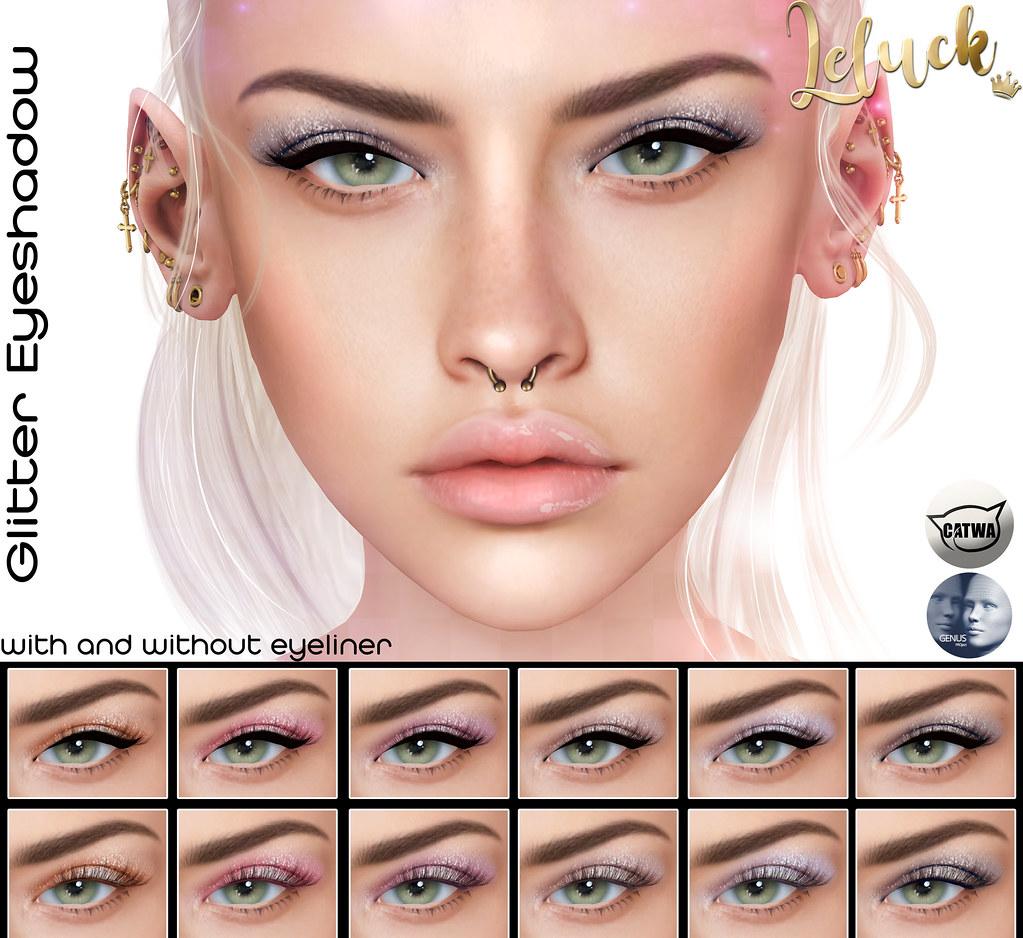 [LeLuck]Glitter Eyeshadow - TeleportHub.com Live!