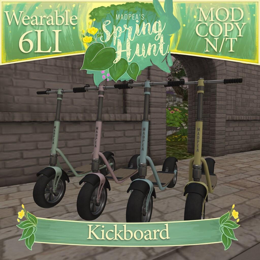 MadPea Spring Hunt – Kickboard!