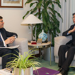 President Nakao Meets Alternate Governor for Portugal