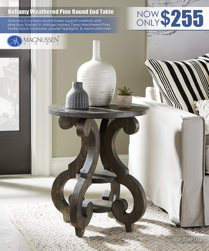 Bellamy Round End Table_T2491_03