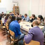 30 марта 2019 года при Свято-Вознесенском соборе Геленджика, по обыкновению, состоялась субботняя встреча молодежи со священником.
