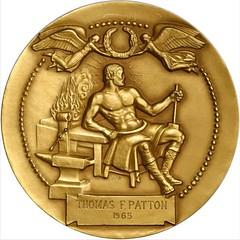 Manship Gary Memorial Medal Reverse