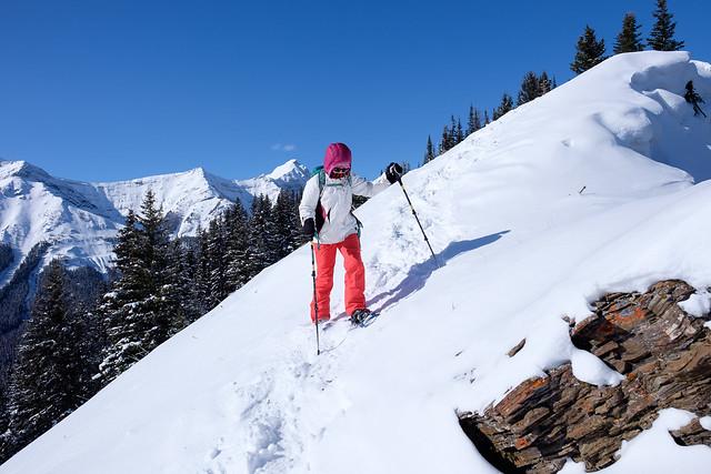 Snowshoeing - Gypsum Ridge - Feb 2019-14
