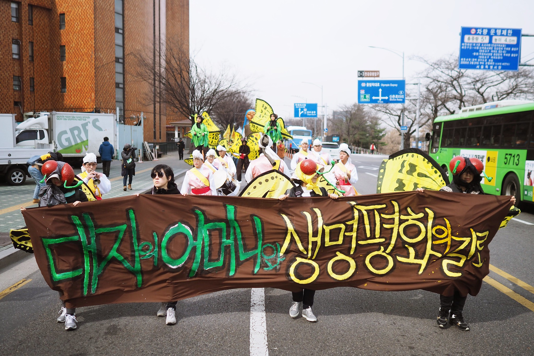 20190309_후쿠시마8주기 311 나비퍼레이드