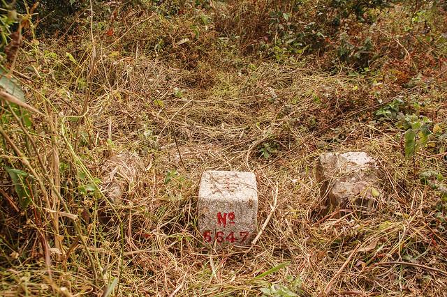 盆貿里山三等三角點(# 6647 Elev. 938 m) 4