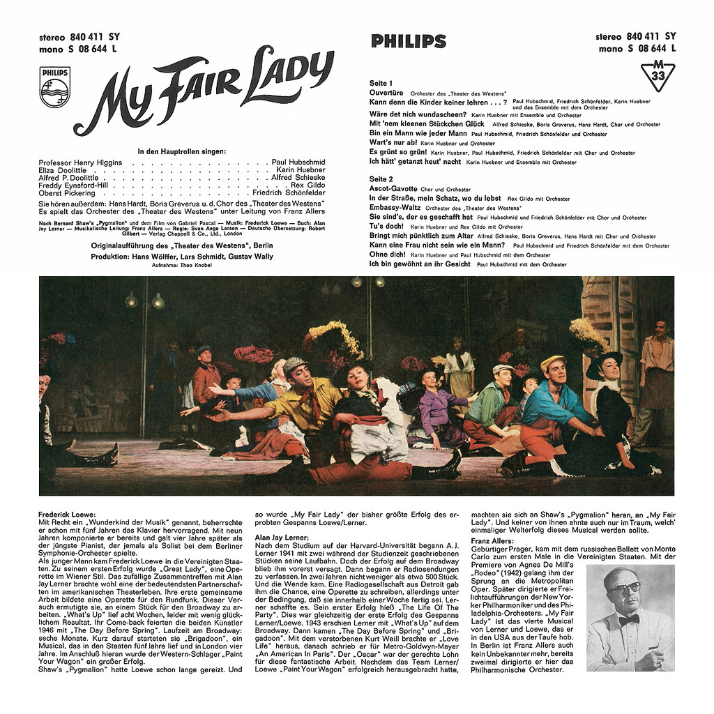 Alan Jay Lerner, Frederick Loewe - My Fair Lady