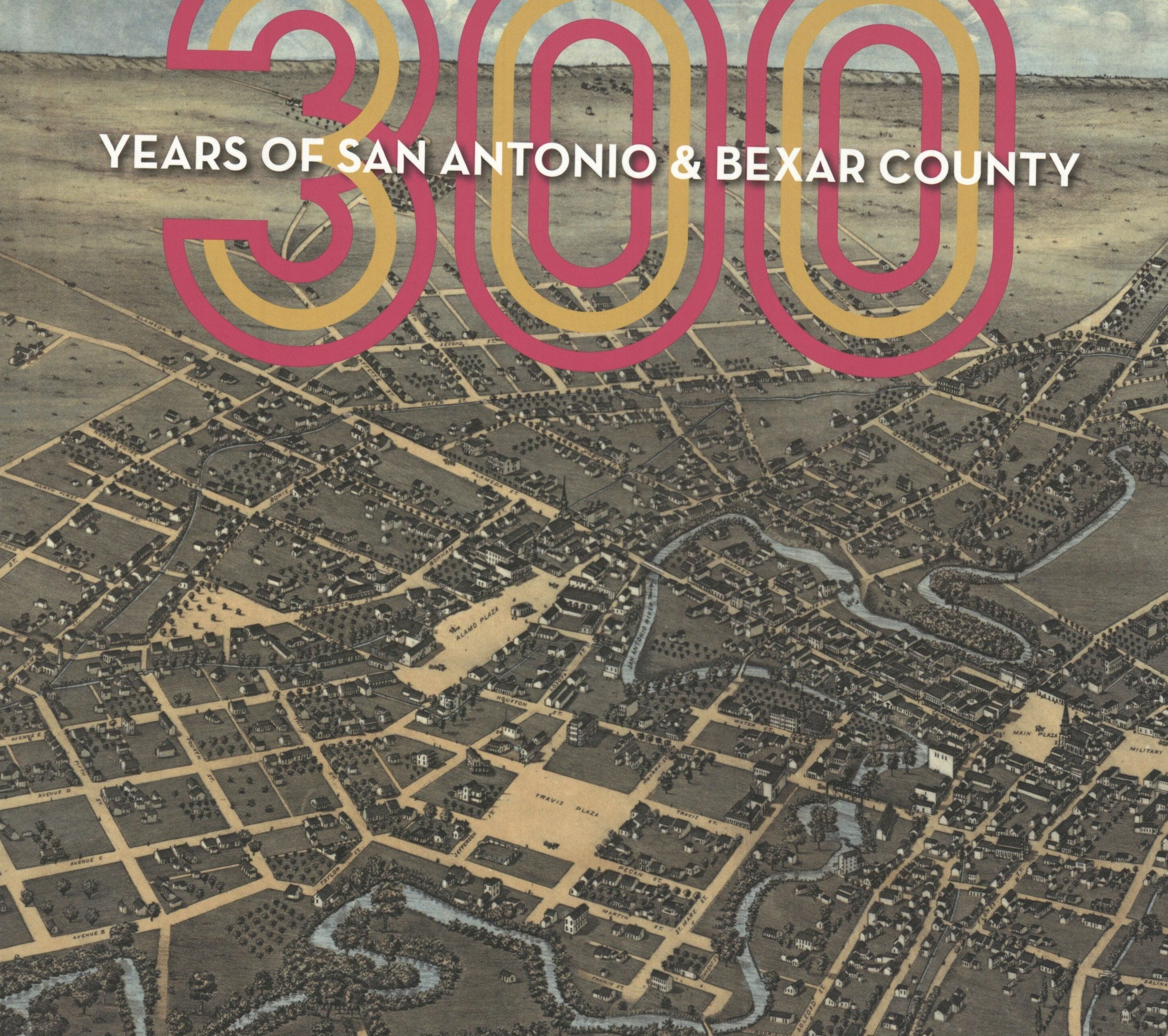 Guerra, Claudia, R., ed. 300 Years of San Antonio & Bexar County. San Antonio: Maverick Books, 2019. Print.