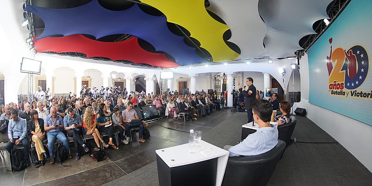 """Jornada Internacional """"Somos Venezuela por la democracia y la paz"""""""