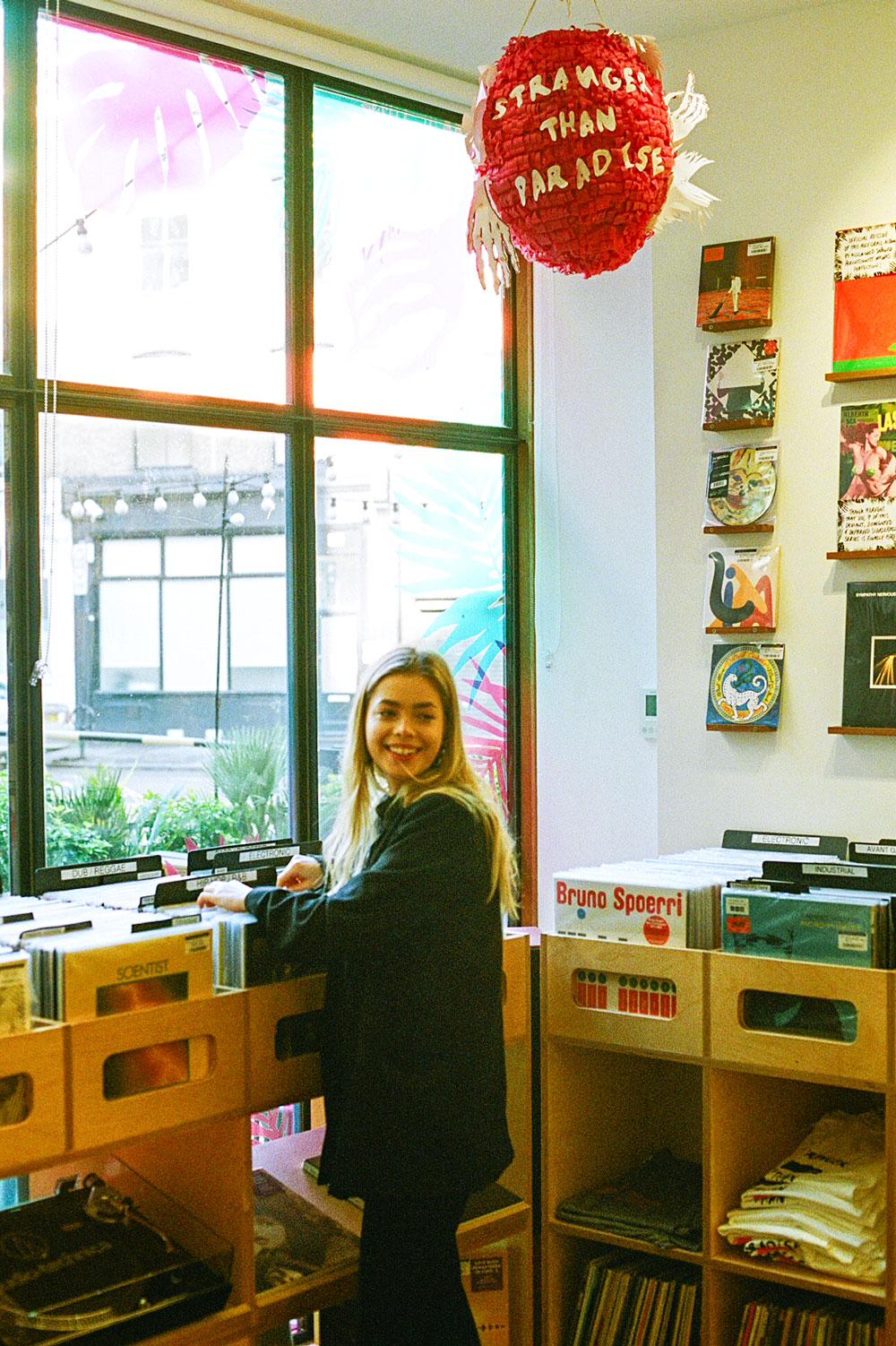 Record Shopping with L Devine