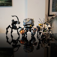 Horizon Zero Dawn Brick Sculptures
