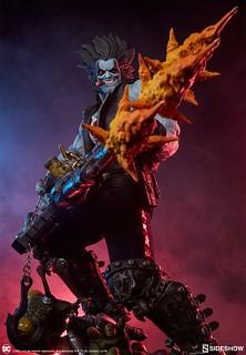 超特殊的「三管吉他槍」也太帥了吧!! Sideshow Collectibles DC Comics【暴狼】Lobo 1/4 比例全身雕像作品