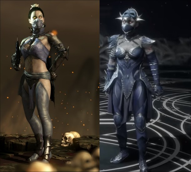 Mortal Kombat 11 vs X - Kitana Revenant
