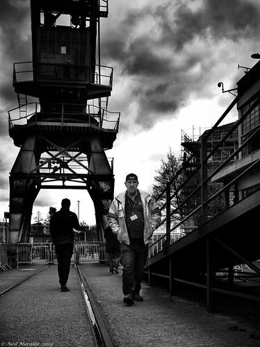 Dock side.