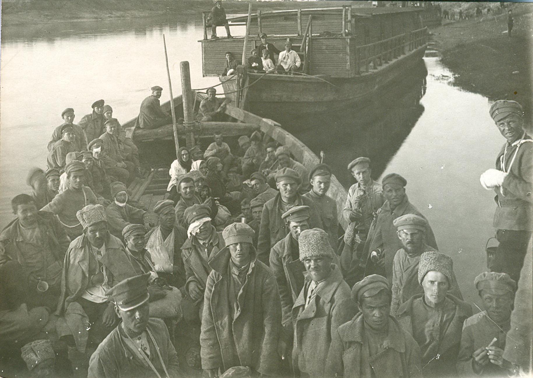 Пленные с польского фронта