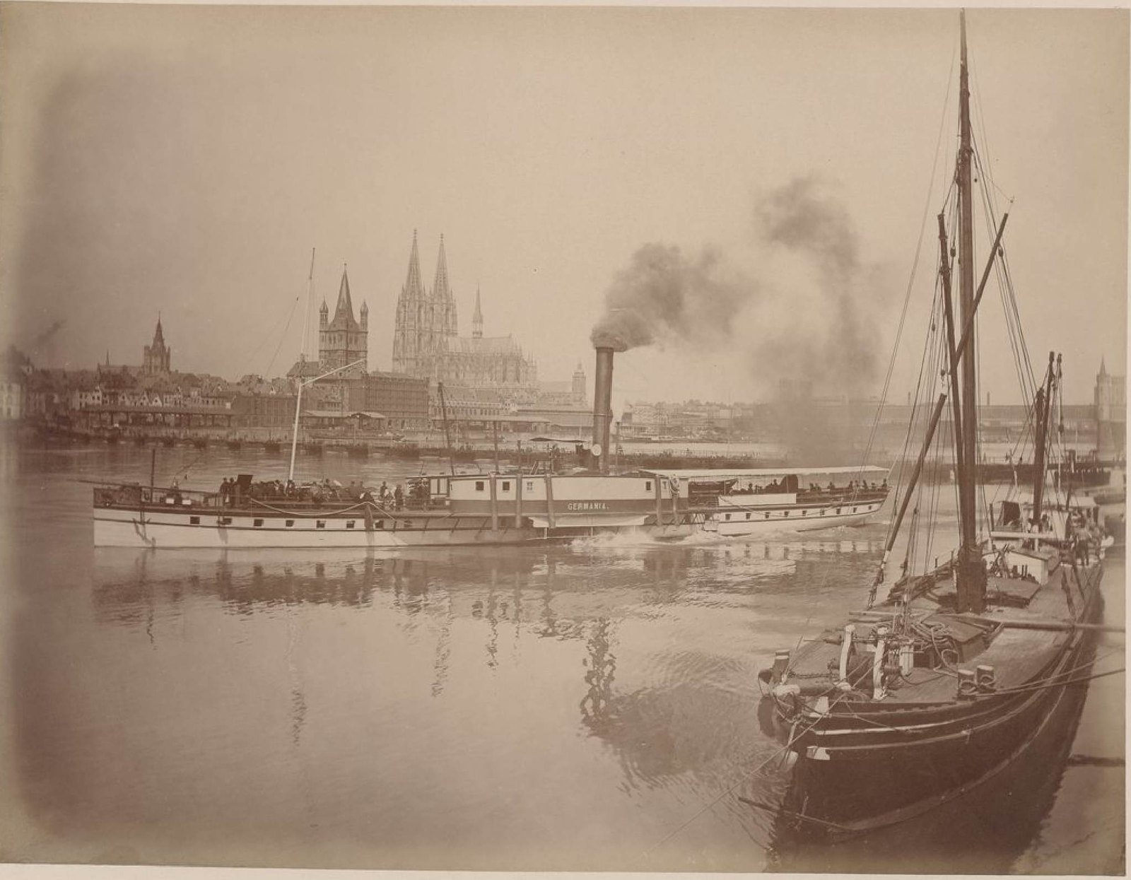 Кёльн и Льеж в мае 1888 года