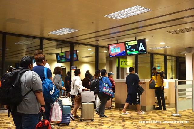 Singapore to Gold Coast Scoot Flight Boarding