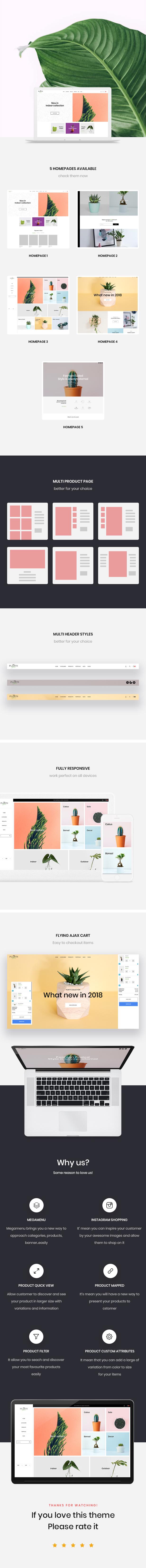 Plants Store prestashop 1.7 themes
