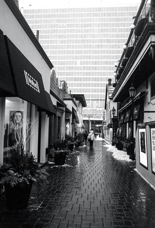 Yorkville Alley Cleared Out