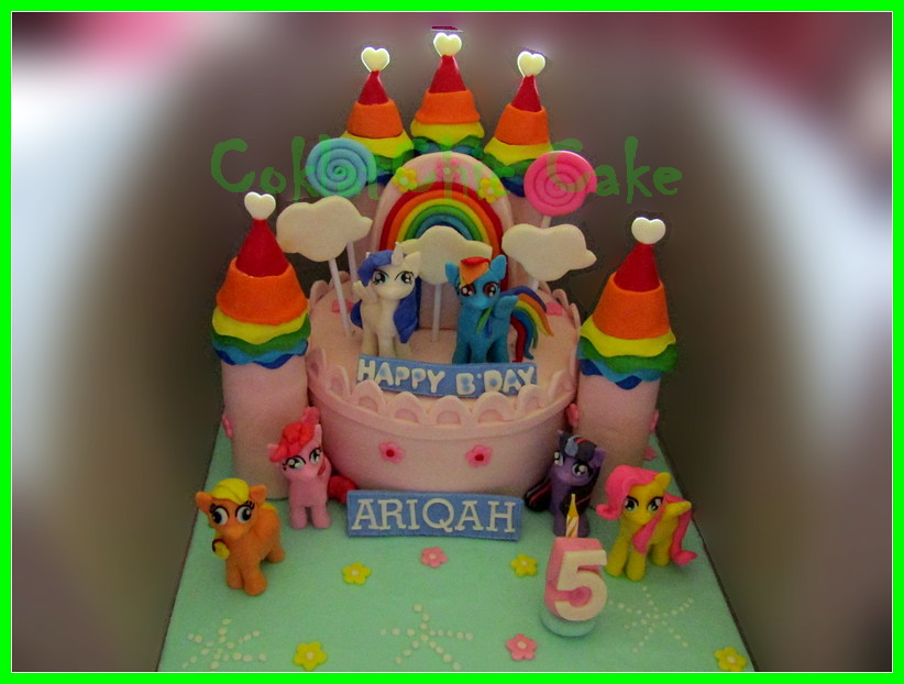 Cake My Little Pony Castle ARIQAH 15 cm