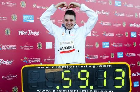 Švýcar Wanders překonal Farahův evropský rekord v půlmaratonu