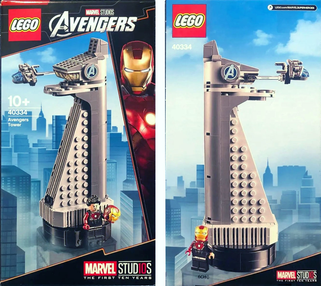 LEGO 40334 Marvel Super Heroes 系列【復仇者大廈】Avengers Tower 超讚滿額禮情報公開~