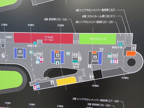 中山競馬場の4階詳細