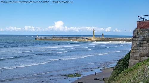 Coast at Whitby, North Yorkshire