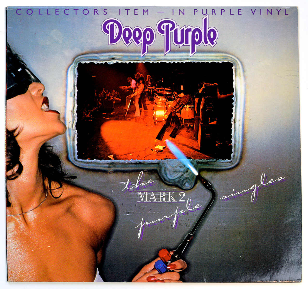A0696 DEEP PURPLE The Mark 2 Purple Singles