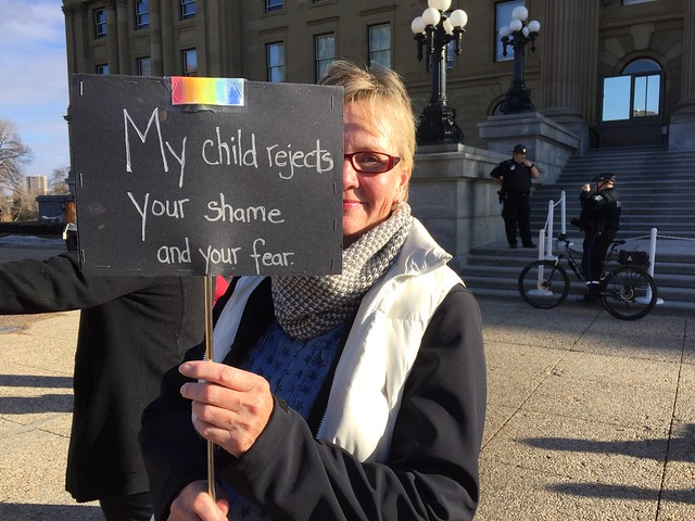 March & Rally to Support LGBTQ2S+ Students & GSAs