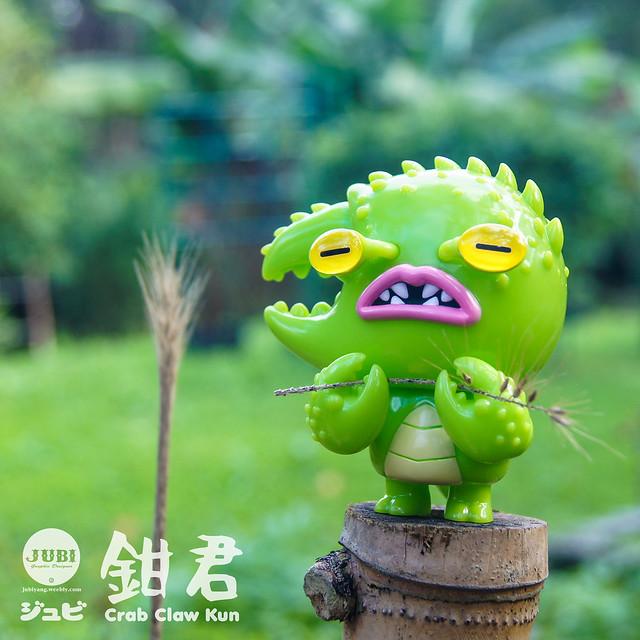 會幫你撿到無數寶貝的可愛怪獸,2019的財運就靠牠了~ JUBI【鉗君】Crab Claw Kun