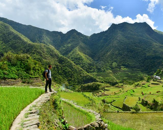 Divisando el paisaje en Batad